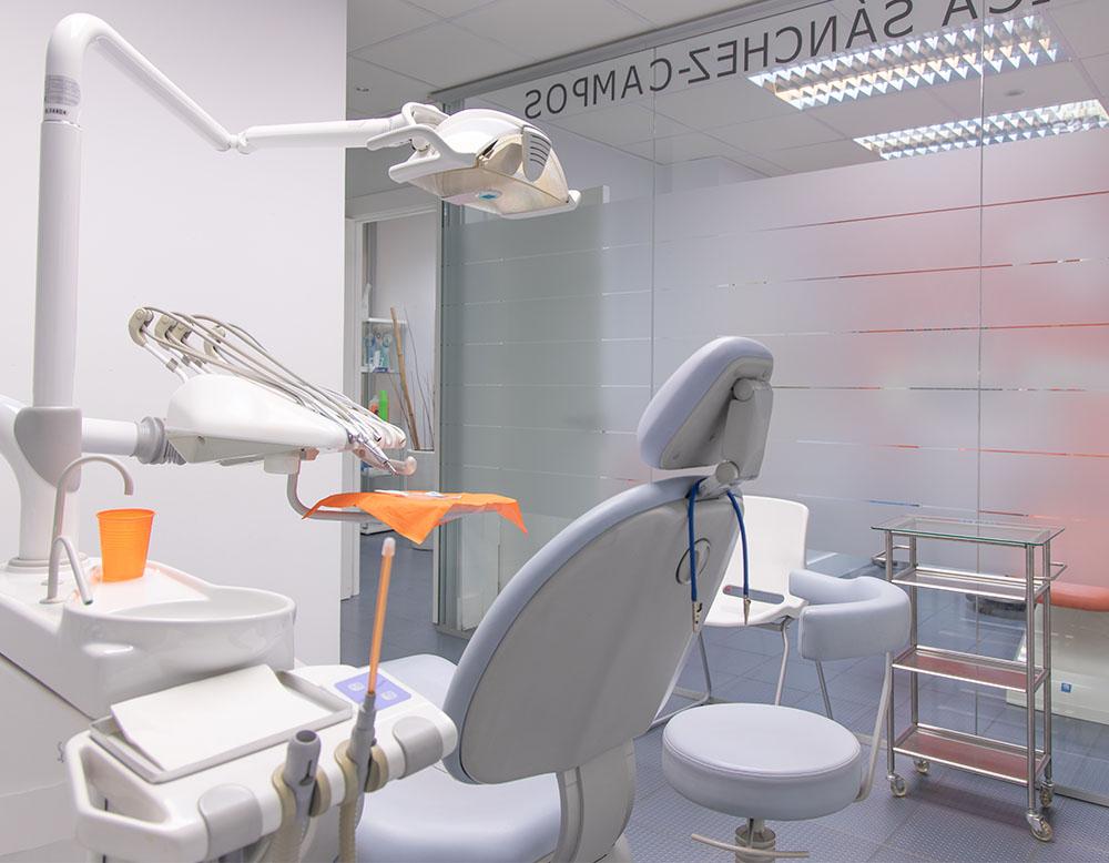 Instalaciones de la Clínica Sánchez Campos sala